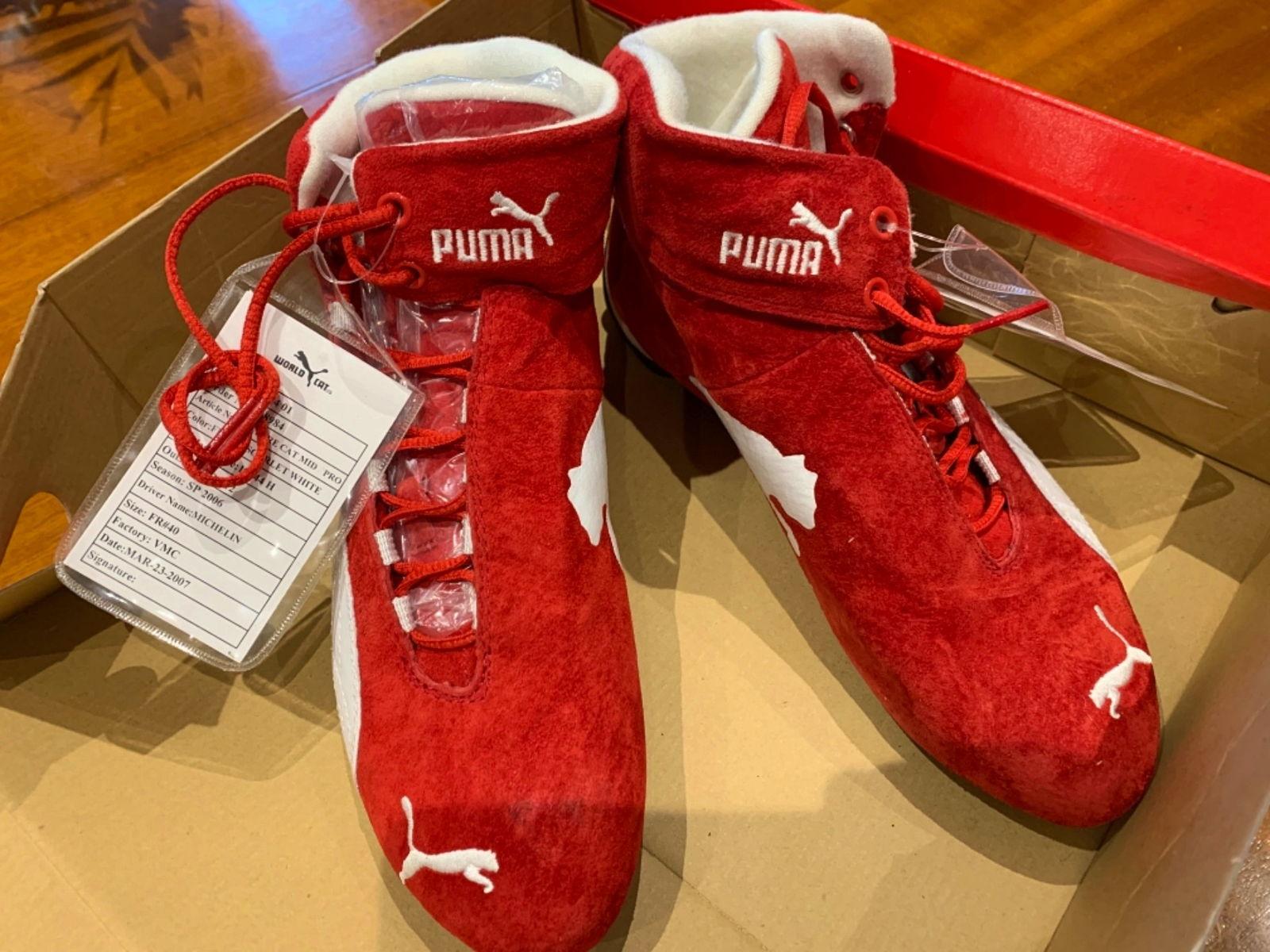 Chaussures Puma Sparco rouge vif - Pointure 40 sur Gens de Confiance