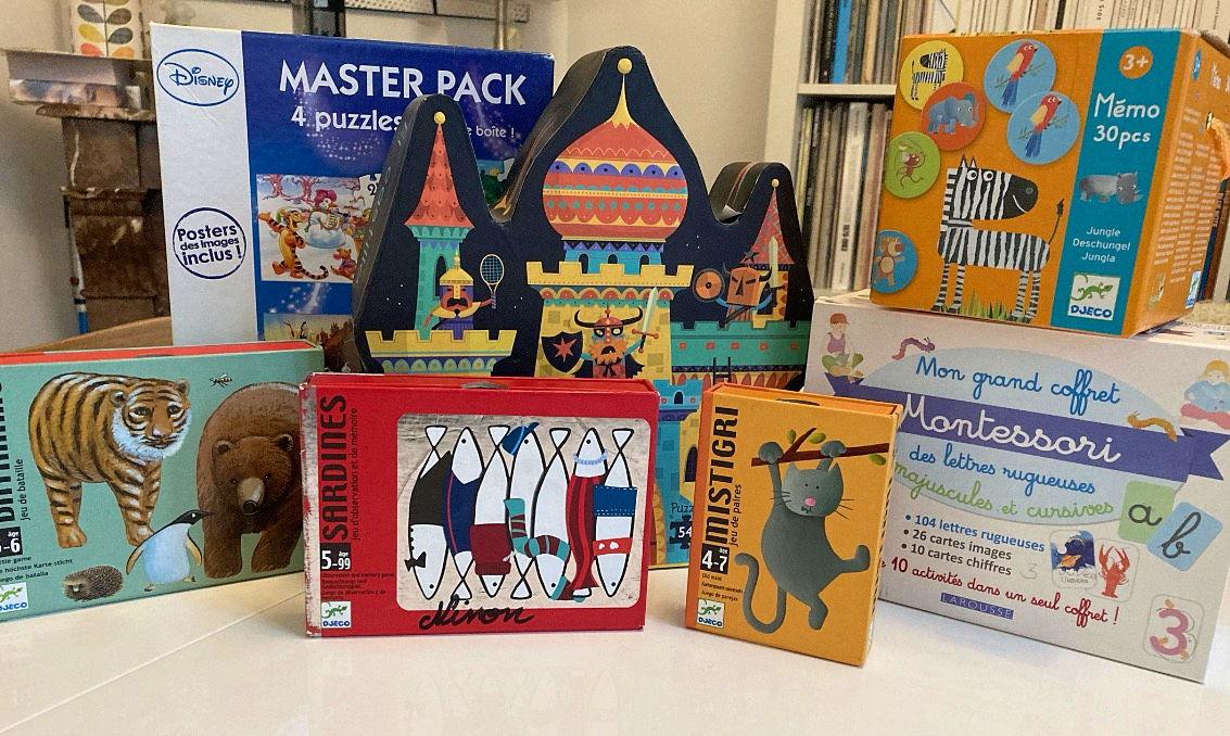 Vends lot jeux et puzzles enfants (à partir de 3 ans) sur GensDeConfiance